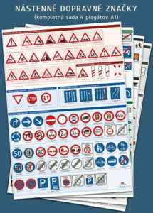 Nástenné dopravné značky A1 2020