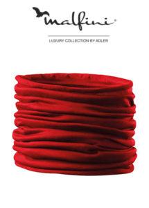 Šatka Twister 07 červená